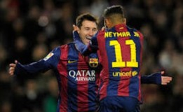 Enrique : Messi Dan Neymar Luar Biasa